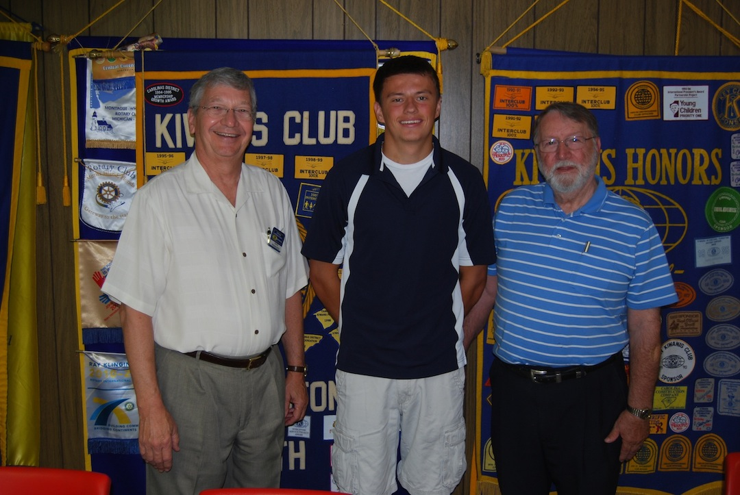 Lee                           Pinkham, Kiwanis Scholorship Winner